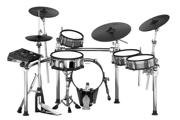 Roland TD-50KV V-Drums Kit. All-new flagship kit with enhanced playability, high-resolution sound and advanced features. www.drumperium.com