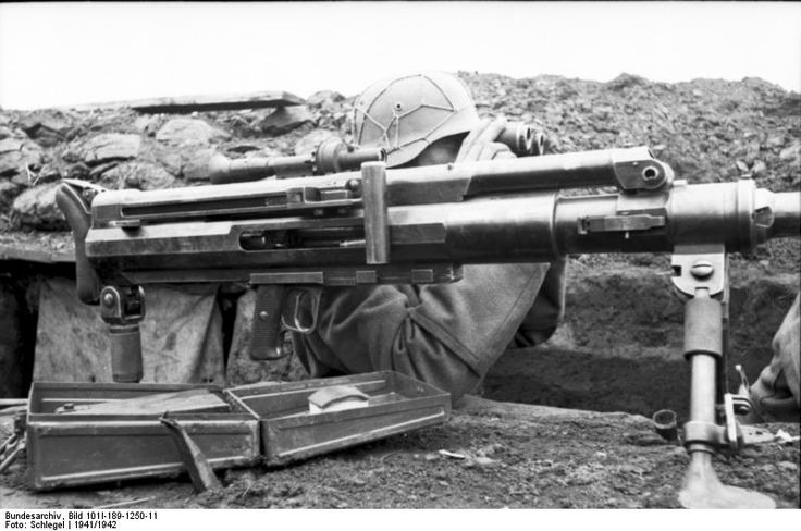 The Solothurn S-18/1000 20 mm Anti-Tank rifle