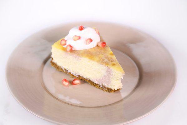 Pomegranate Swirl Cheesecake by Carla Hall