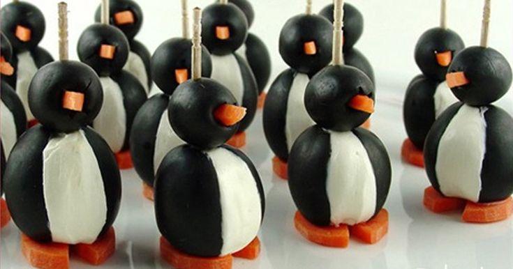 Tučňáci na párty, aneb veselé jednohubky