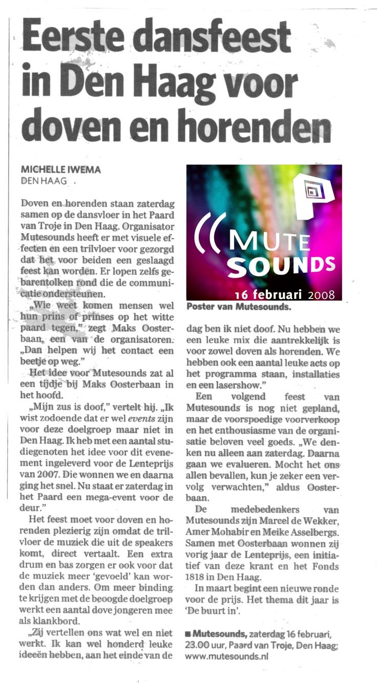 Algemeen Dagblad - februari 2008
