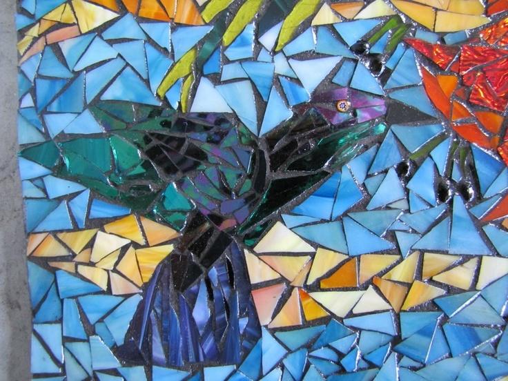 hummingbird by kat gottke - Fantastisch Mosaik Flie
