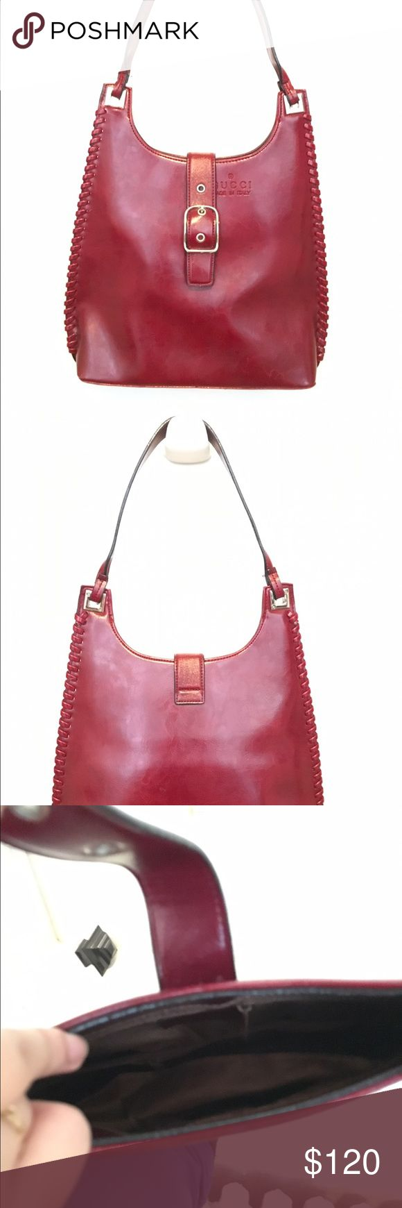 Vintage Gucci purse Dark red/ maroon, vintage Gucci shoulder purse Gucci Bags Shoulder Bags
