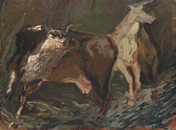 Renato Guttuso - Animali nella notte (1935)