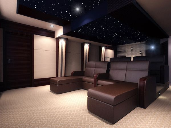 Home Theatre Interior Design Ideas Unique Design Decoration