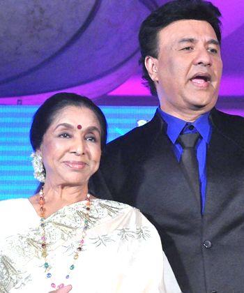 Asha Bhosle's take on Anu Malik as a judge!