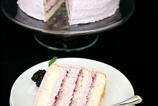 Blackberry Lemon Elderflower Cake | Sweets and Treats | Pinterest