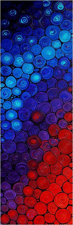 Red & Blue Texture