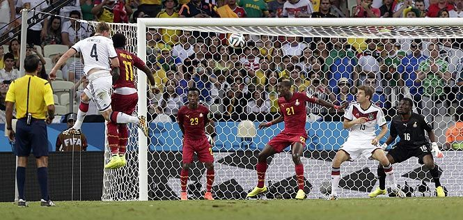 Germany Come Back To Draw Against Ghana
