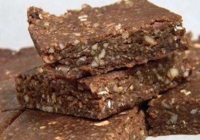 Čokoládové raw tyčinky - Ochutnaj.sk