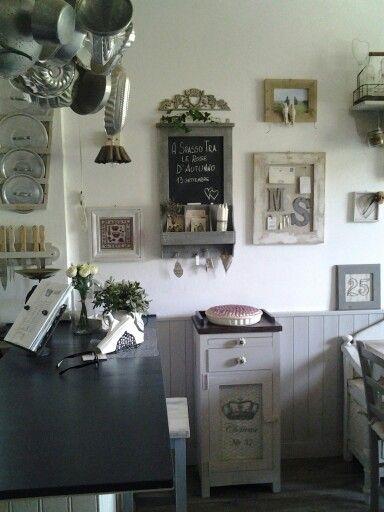 Cucina shabby casa Atelier 57f