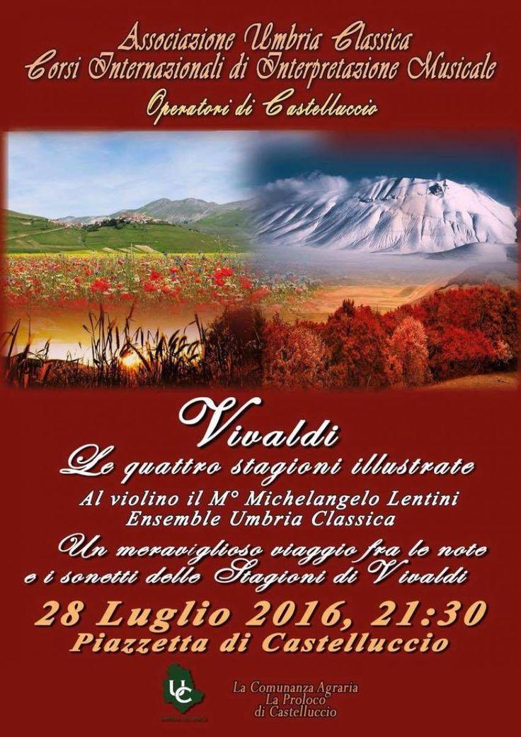 Le Quattro Stagioni di Vivaldi a Castelluccio di Norcia