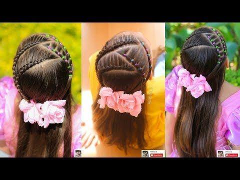 15 Peinados semirecogidos para ninas