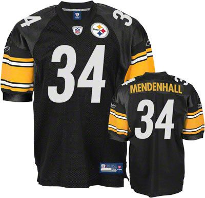 894833b50a8 ... Reebok Pittsburgh Steelers Rashard Mendenhall 34 Black Authentic Jersey  Sale NFL Pinterest Pittsburgh steelers, ...