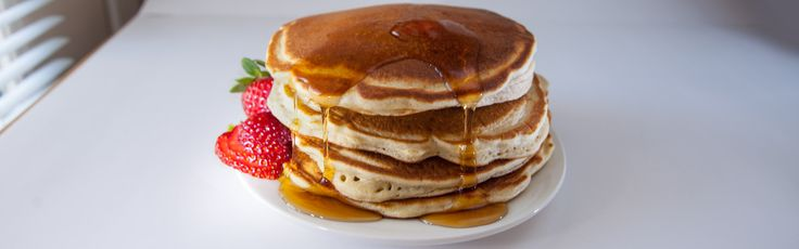 SOS Phase I version:  INGREDIENTS 6 egg whites 1/2 cup oats 1 tsp baking powder 1/2 cup unsweetened almond milk 1 dash salt 2 packets Truvia or Stevia 1 dash cinnamon  Blend all ingredients, makes two large pancakes, serve w/SF syrup or SF jelly. 1 protein, 1 reignite carb.