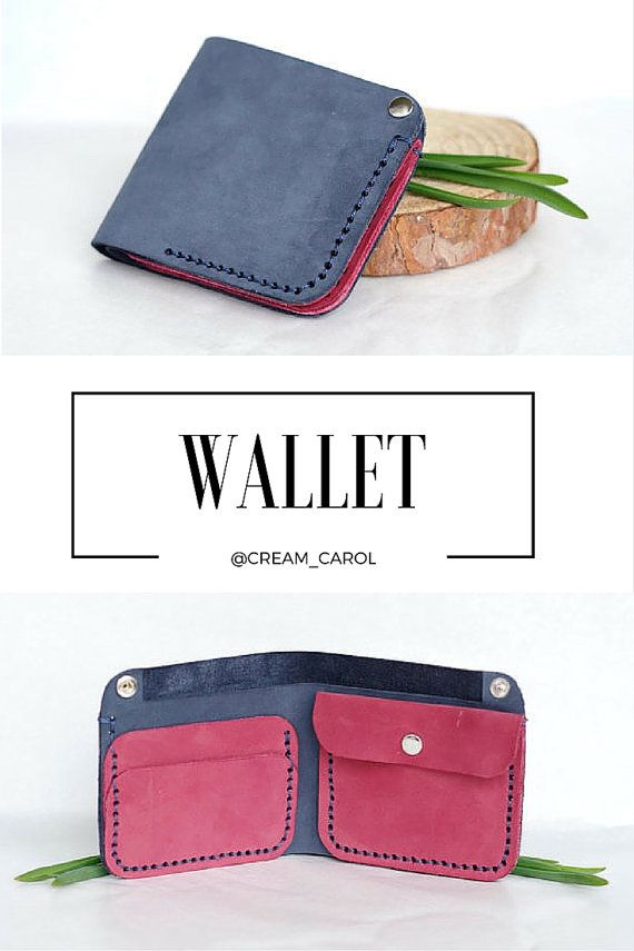Simple wallet | Simple leather wallet | Simple wallet design | Handmade leather accessories | Leather goods |