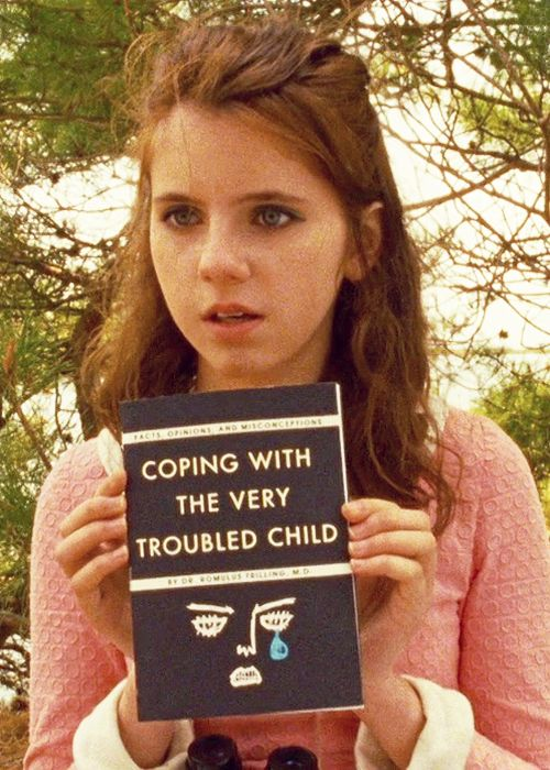 """Are you de-pressed?"" #Moonrisekingdom #Wesanderson"