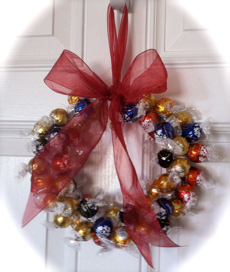Edible Candy Wreath, Chocolate Candy Wreath, Gift Wreath, Occasion Wreath by CraftElegance on Etsy
