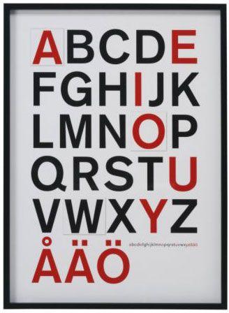 Olunda: Alphabet
