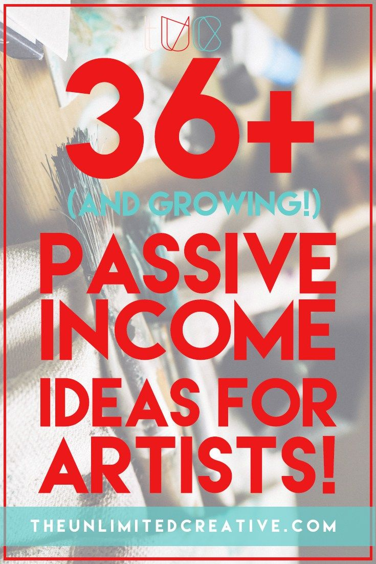 94 best images about passive income for artists. on Pinterest
