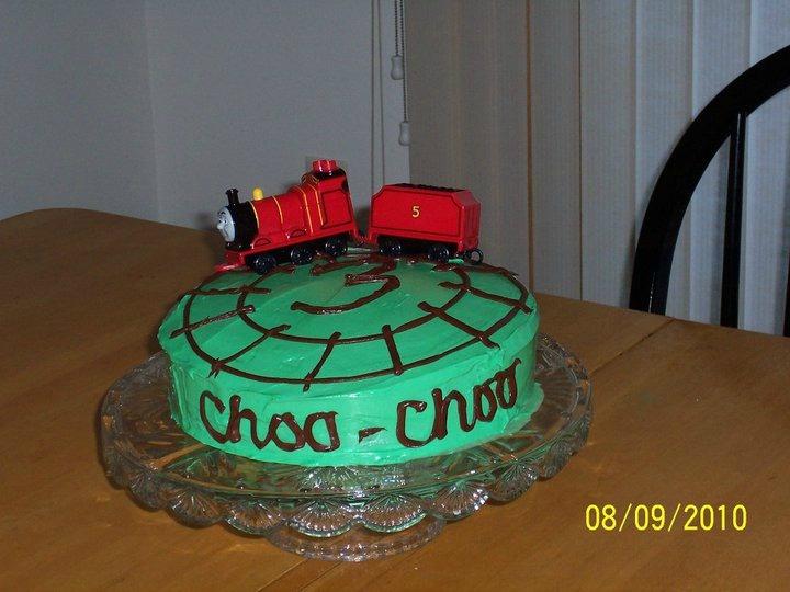 Choo-Choo Train Birthday Cake