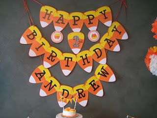 My birthday is October 27th, my parents got me black cat and witch birthday cakes.  I hated it!!!  Now had they done a Candy Corn Birthday Party?  Well, that's a different story!!!!