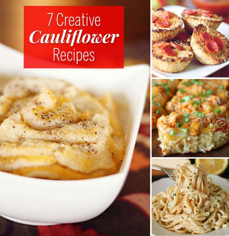 If you're only roasting cauliflower florets and calling it a day, you're missing out. Here are some creative cauliflower recipes you've gotta try.