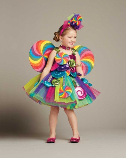Candy Fairy Costume for Girls