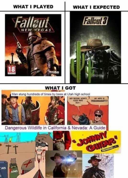 Fallout New Vegas meme Lmao  Fallout