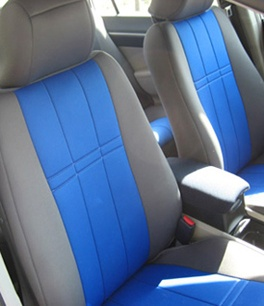 Neoprene seat covers. I seriously want these!