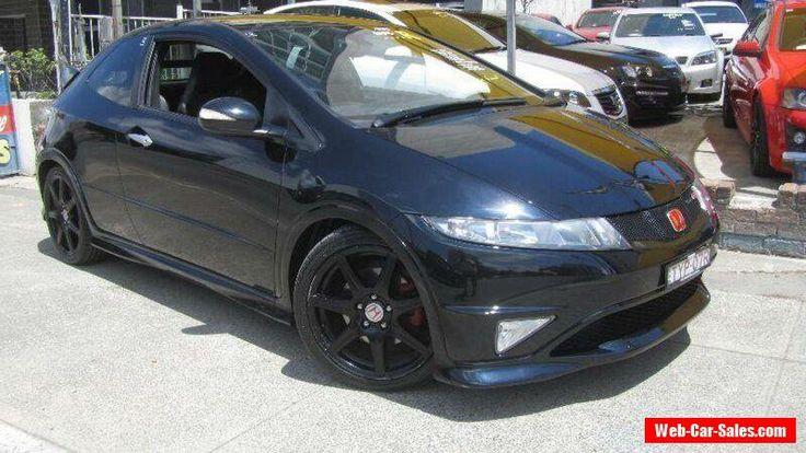 2007 Honda Civic 30 Type R Black Manual 6sp M Hatchback #honda #civic #forsale #australia
