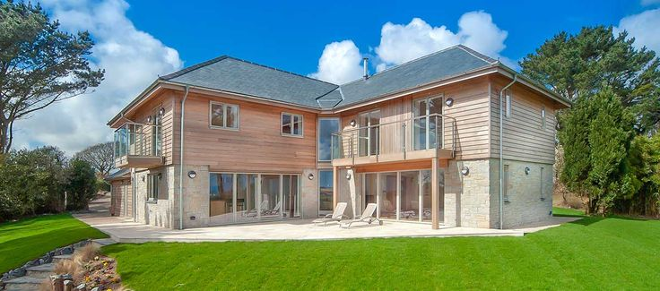 Construction of new build residential property in Constantine, Cornwall