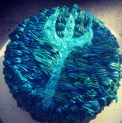 Percy Jackson cake- Holy Hera that's awesome! I need to make this!