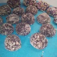 Τρουφάκια με ζαχαρούχο και πτι-μπερ