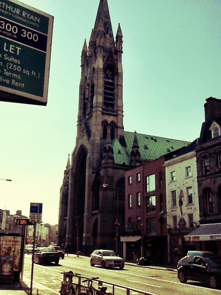 a pic I took of a church in Dublin!
