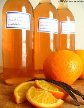 *** Vin d'orange pour apéro