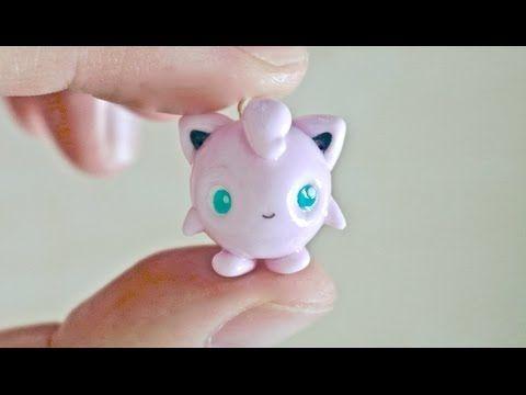 Pokemon Jigglypuff Polymer Clay Charm Tutorial