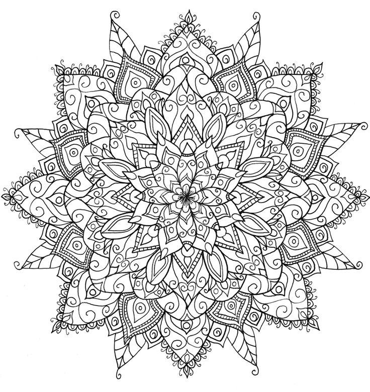 ԑ̮̑♦̮̑ɜ~Mandala para Colorear~ԑ̮̑♦̮̑ɜ   by WelshPixie