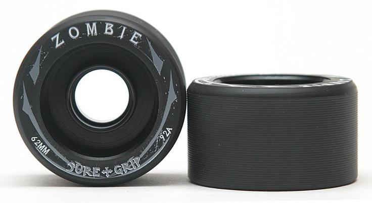 Sure Grip Zombie Black hub- SET OF 4