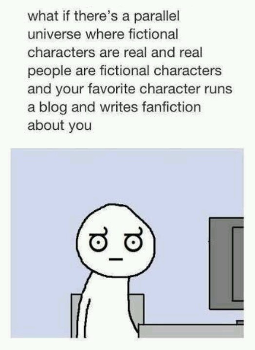 The Doctor, Ron Weasley and Draco Malfoy are writing about me? Eek! :)