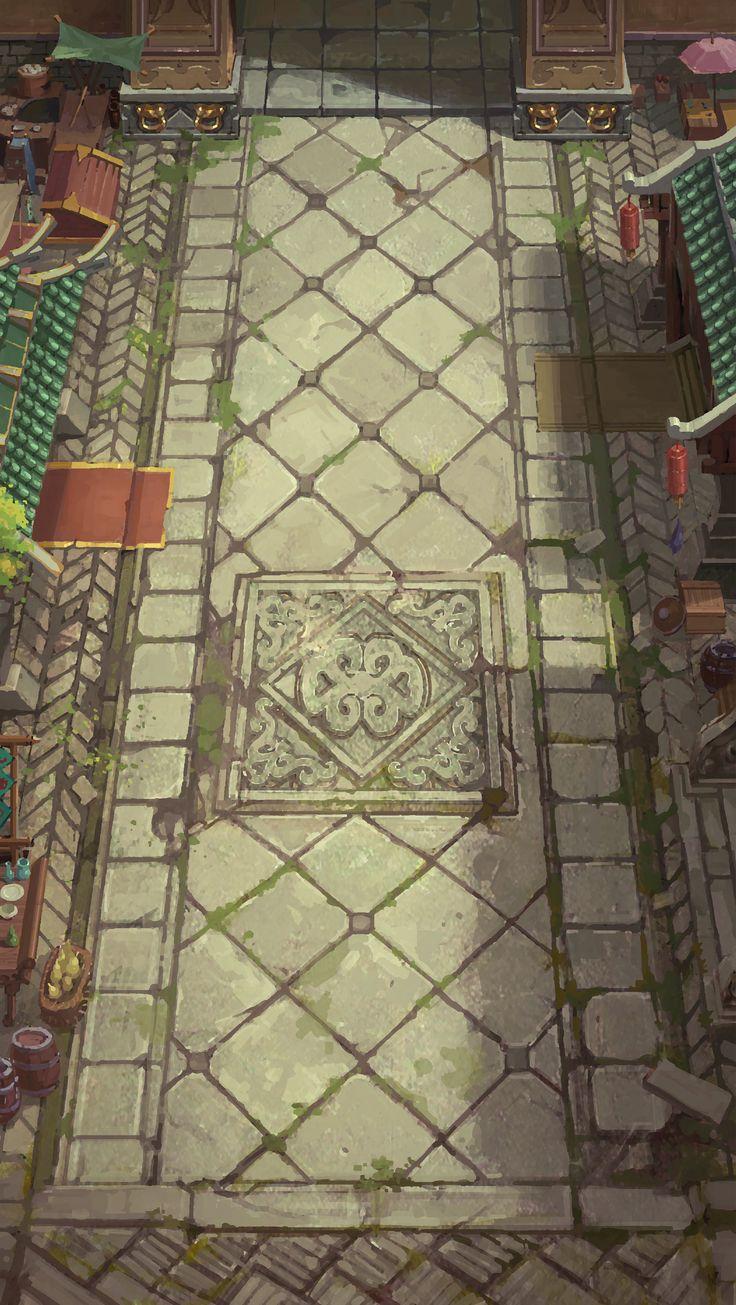 游戏原画@手残枕头一枚采集到地图场景(142图)_花瓣