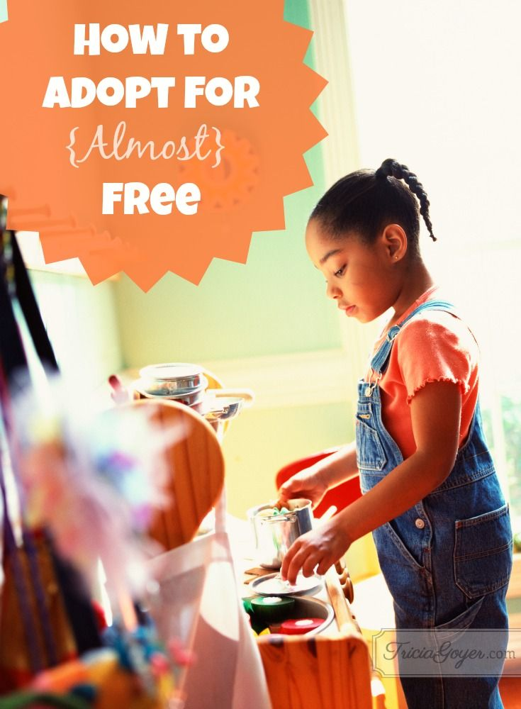 Adoption can be very experience and even more so rewarding. Tricia Goyer shares her adoption process and one way you can adopt for almost free.