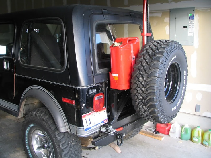 Spare Tire Gas Can Carrier And Jack