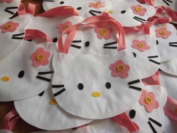 Bolsa De Festa De Feltro : Melhores ideias sobre bolsa da hello kitty no