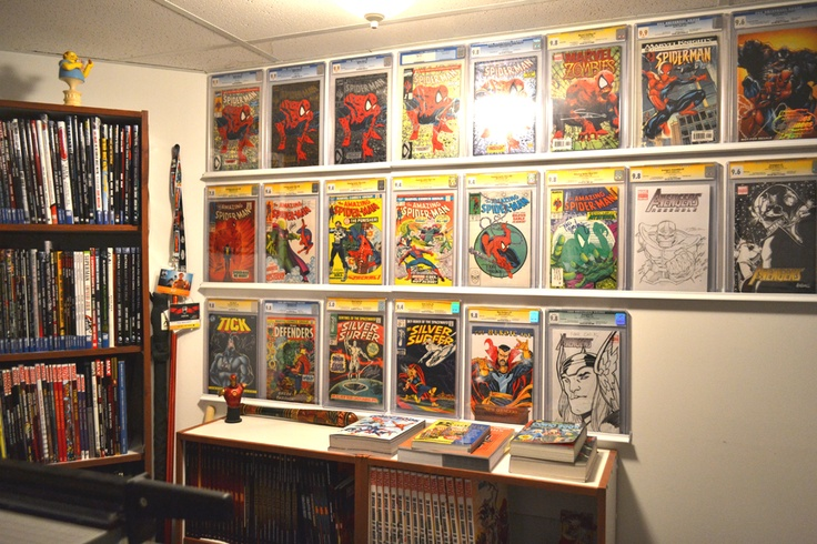 14 best Comic book display ideas images on Pinterest