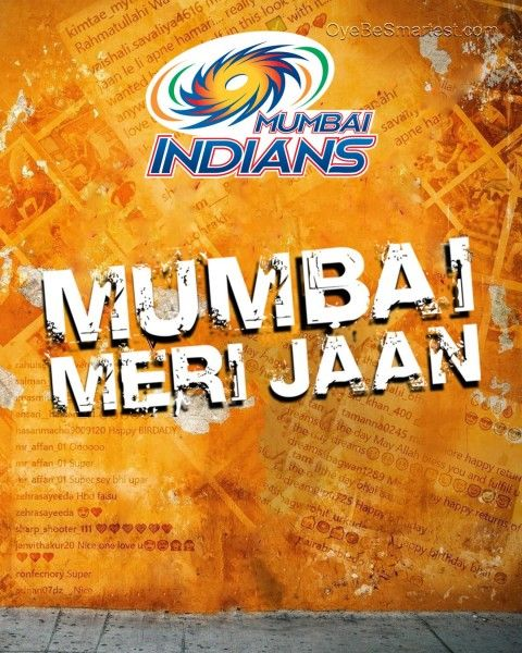 This is HD #IPL #MumbaiIndians #poster #RohitSharma #CB #Background