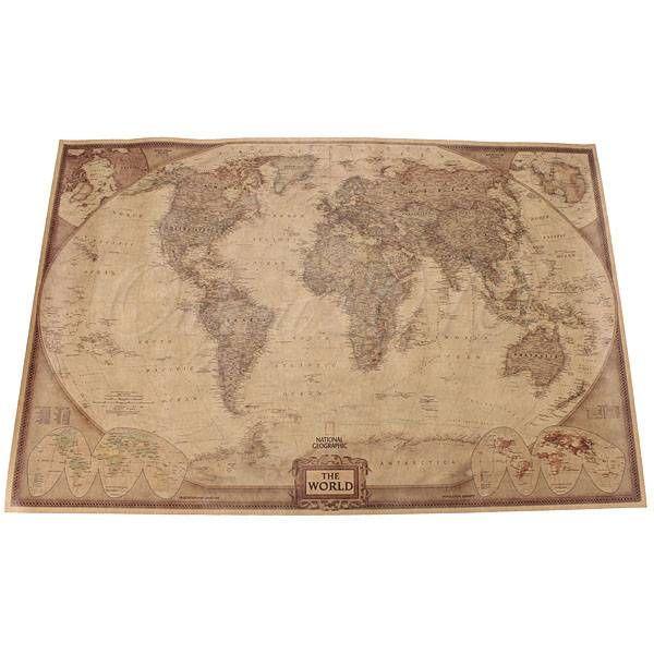 Wereldkaart Poster online kopen? I MyXLshop -