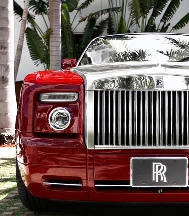 Red Rolls Royce