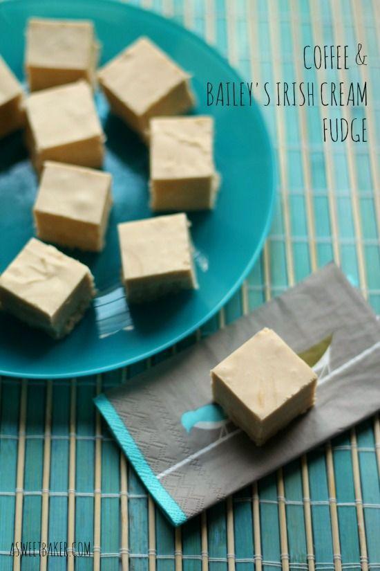 Coffee & Bailey's Irish Cream Fudge   A Sweet Baker
