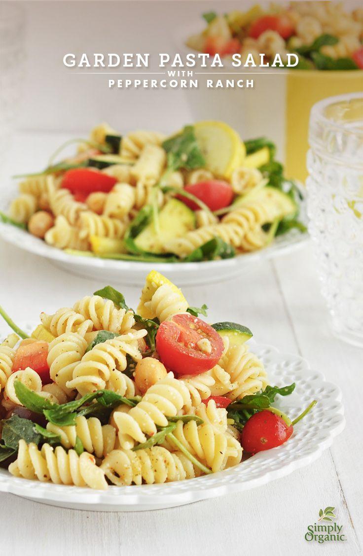 Garden Pasta Salad Recipe — Dishmaps